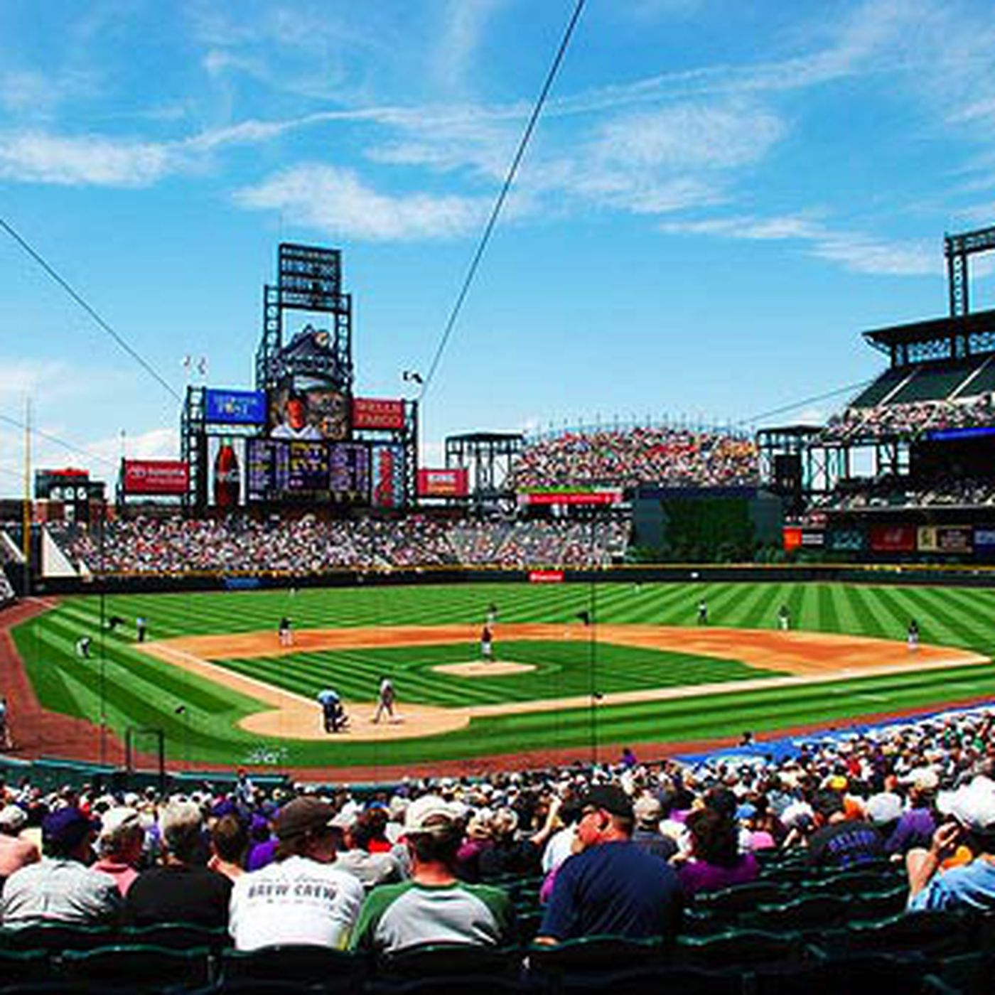 Rockies Stadium Map | www.tollebild.com