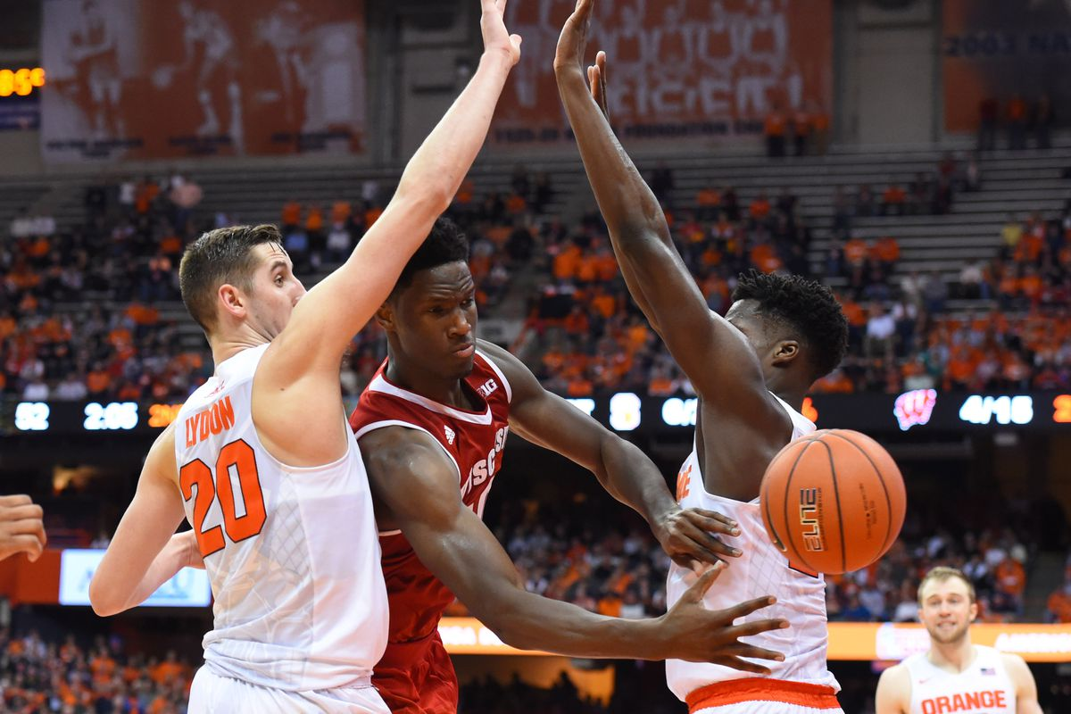 NCAA Basketball: Wisconsin at Syracuse