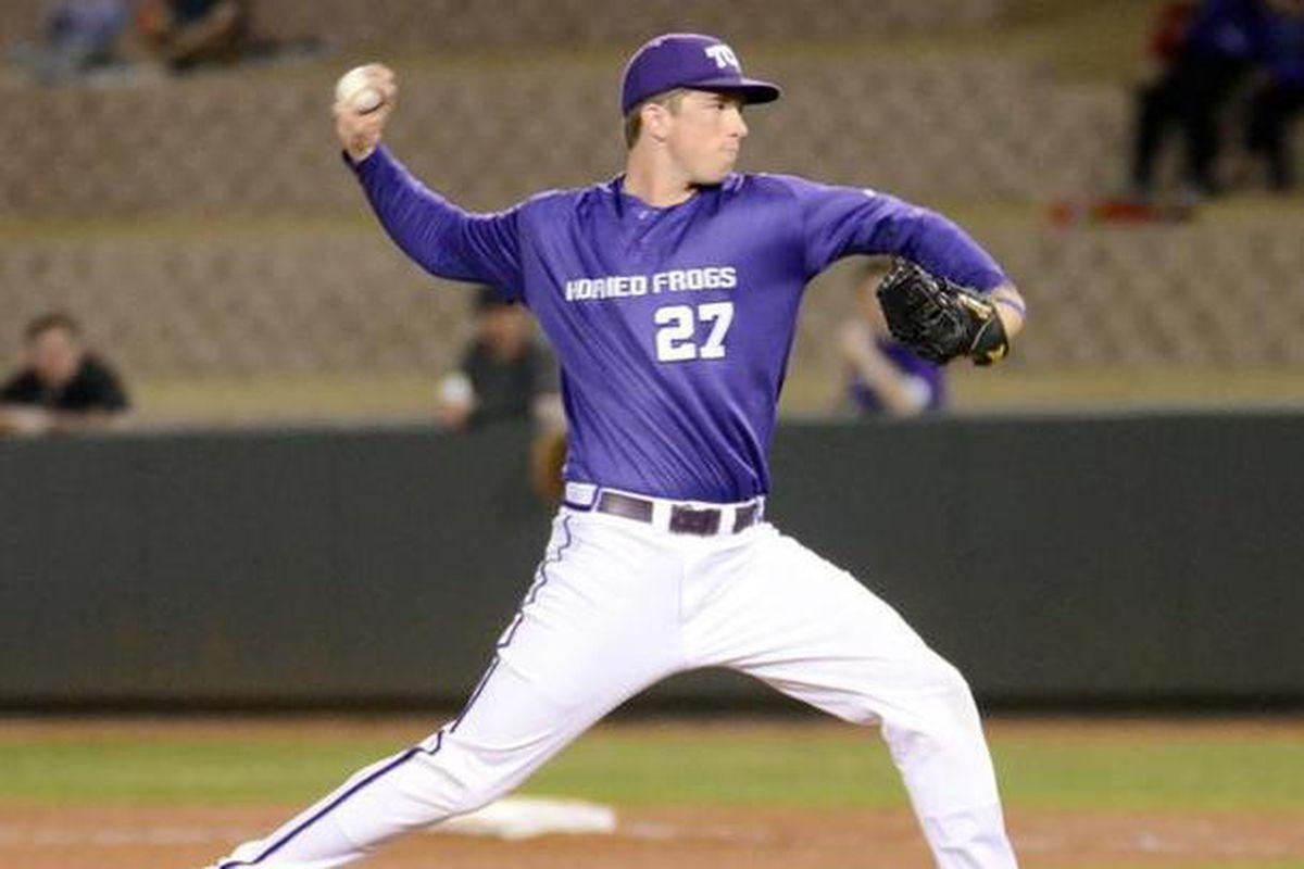 Jordan Kipper - TCU Baseball - TCU