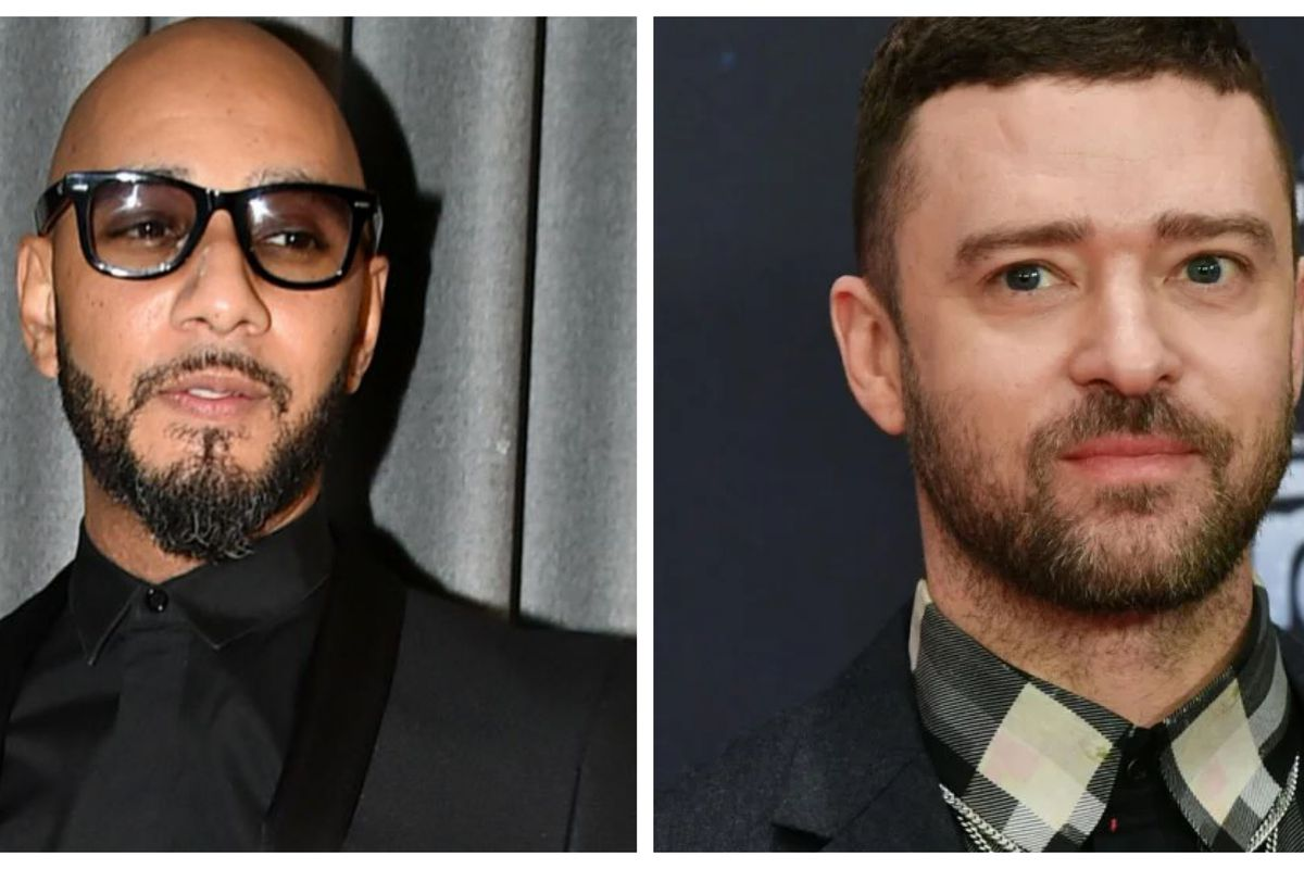 Swizz Beatz and Justin Timberlake