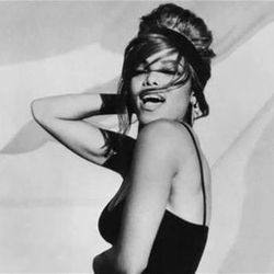 """Screen shot of Janet Jackson's """"Love Will Never Do Without You"""" music video, directed by Herb Ritts"""