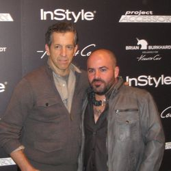 Kenneth Cole and Project Accessory Winner, Brian Burkhardt