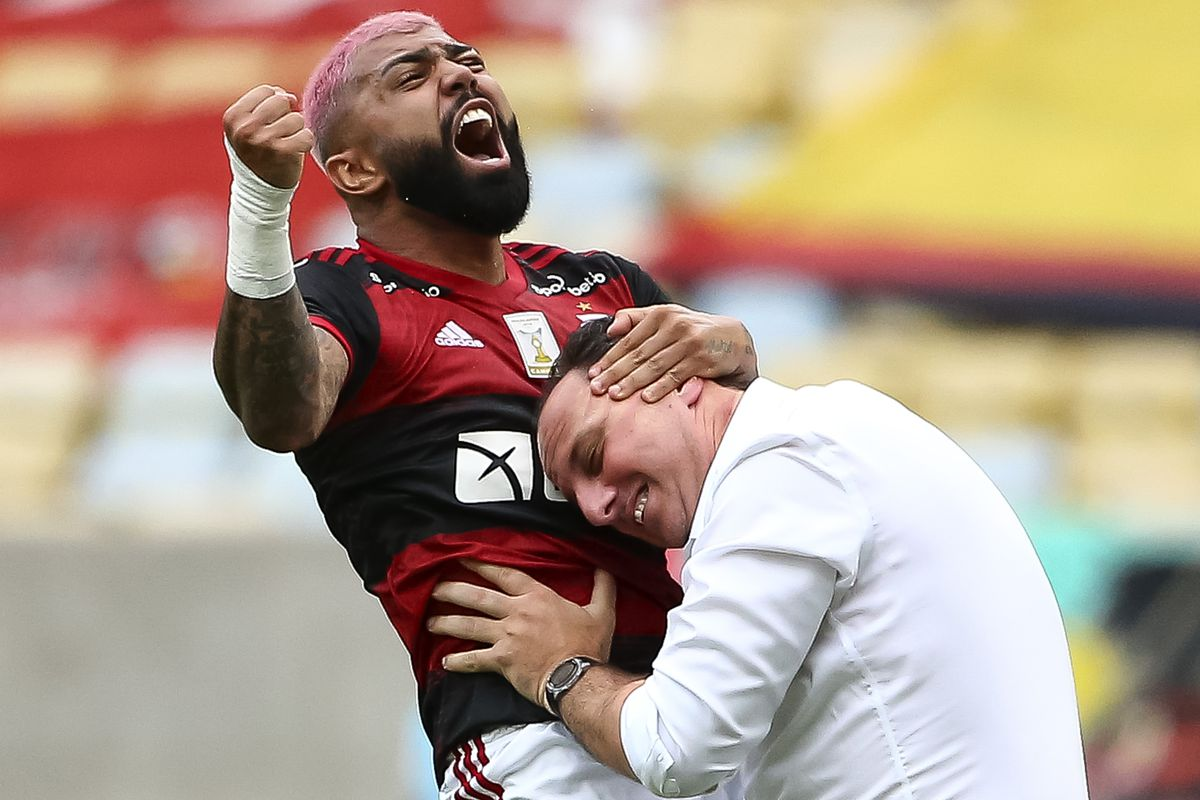 Brasileirao Series A: Flamengo v Corinthians Play Behind Closed Doors Amidst the Coronavirus (COVID - 19) Pandemic