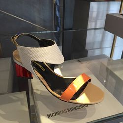 Low heel sandals, $196.50 (were $655)