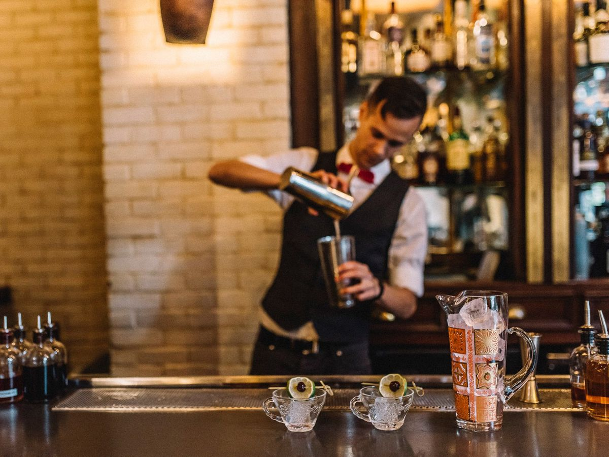 The Ludlow Hotel Lobby Bar