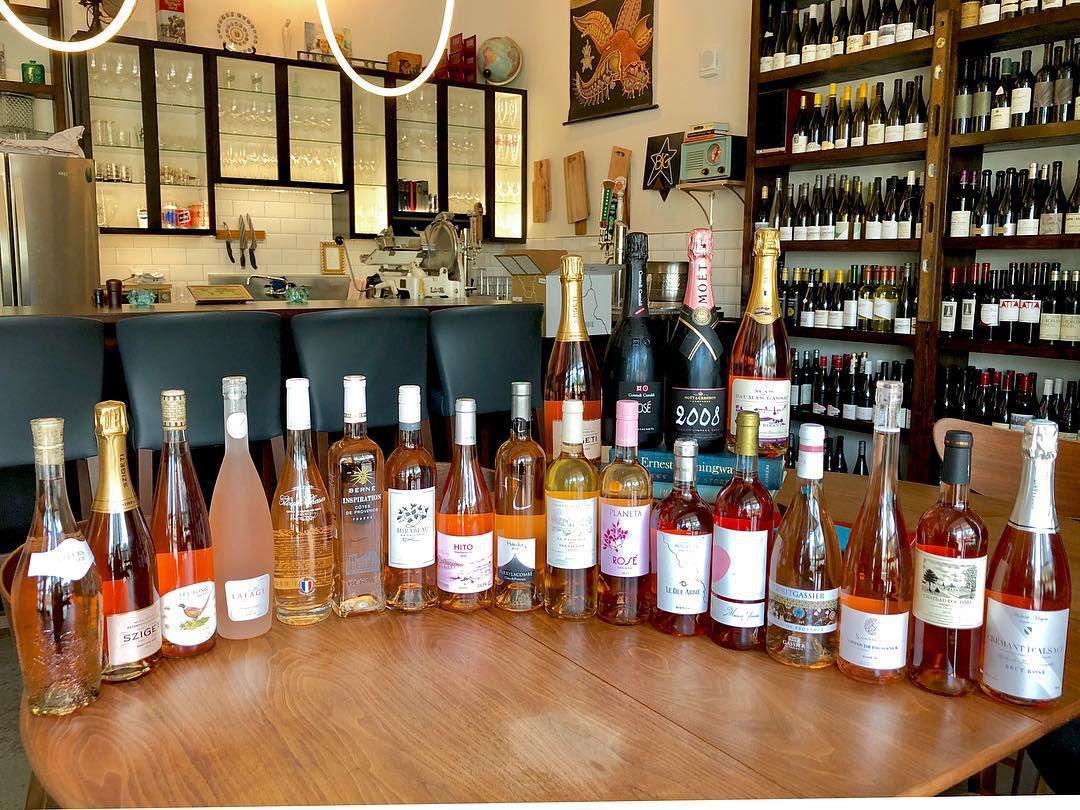 Bottles of wine at Apt 115