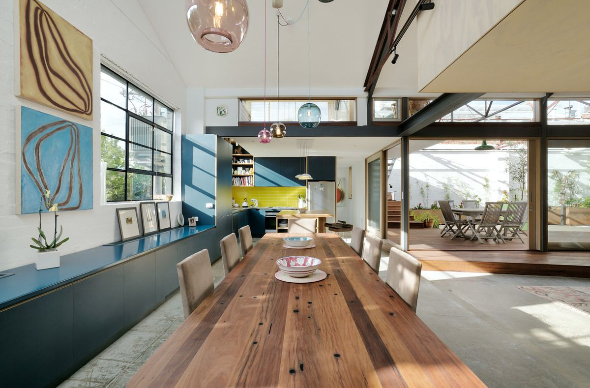 1960s Warehouse Becomes Hip Green Home In Melbourne Curbed