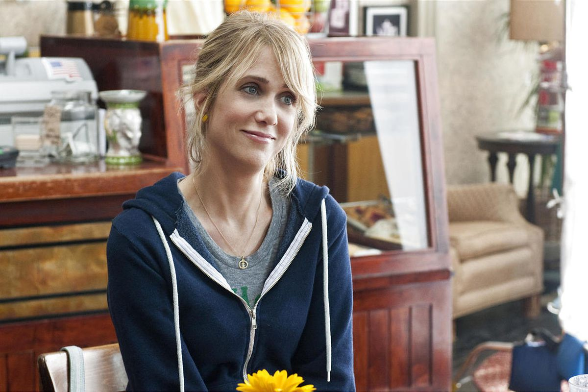 """In the comedy """"Bridesmaids"""", KRISTEN WIIG stars as Annie, a maid of honor whose life unravels as she leads her best friend and a group of colorful bridesmaids on a wild ride down the road to matrimony."""