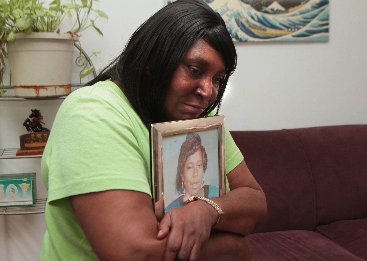 Theresa Matthews' daughter, Cateresa, was raped and murdered in 1991. Willie Randolph was ordered held without bond Thursday in Markham court. | Leslie Adkins/For the Sun-Times