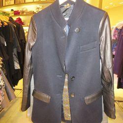 Veda navy jacket, $254.50