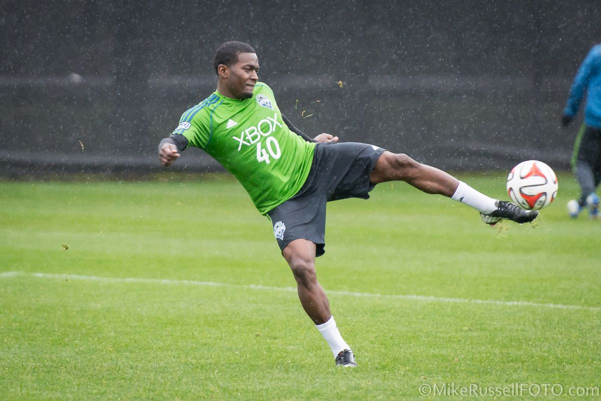 Darwin Jones, Seattle Sounder.