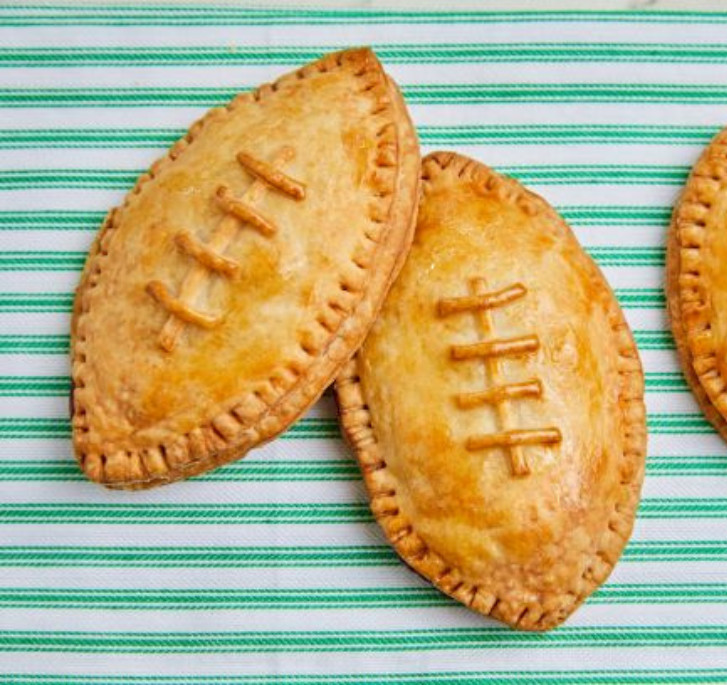 The football pies from Tiny Pies