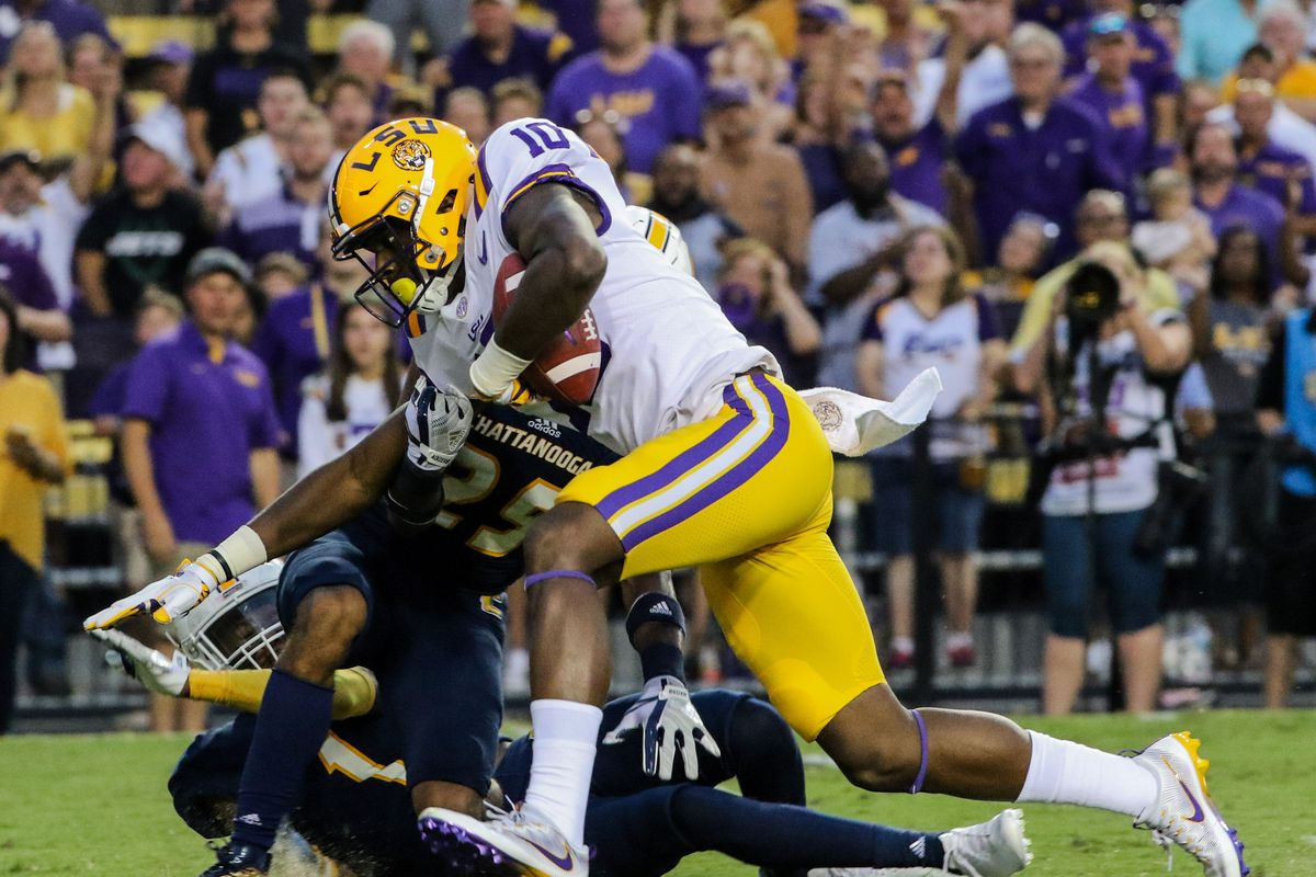NCAA Football: Chattanooga at Louisiana State