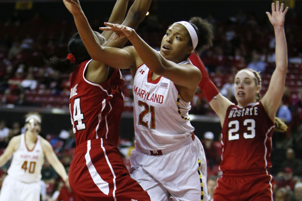 Tianna Hawkins was on a mission Thursday night and could not be stopped.