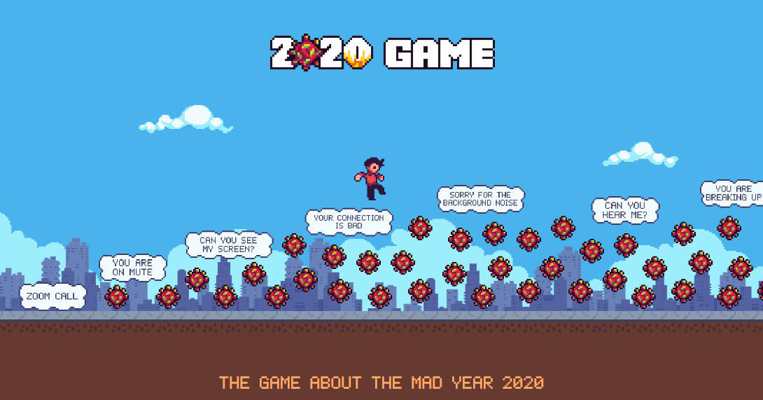 2020 Game is a surprisingly fun side scroller about an awful year