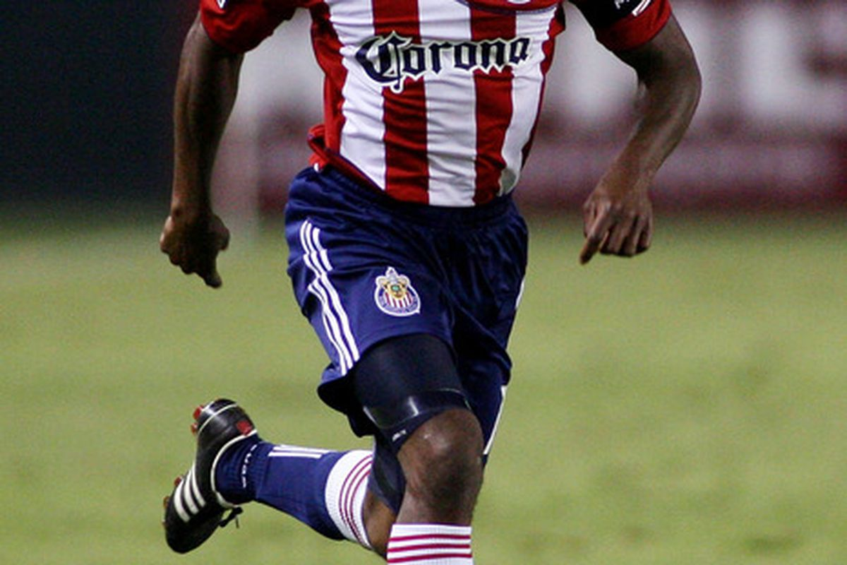 CARSON, CA - SEPTEMBER 10:  Michael Lahoud #11 of Chivas USA contros the ball against D.C. United at The Home Depot Center on September 10, 2011 in Carson, California.  (Photo by Jeff Golden/Getty Images)