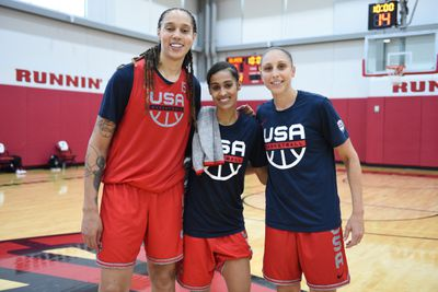 2021 WNBA All-Star Practices
