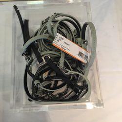 Leather bracelets, $40 (originally $125)