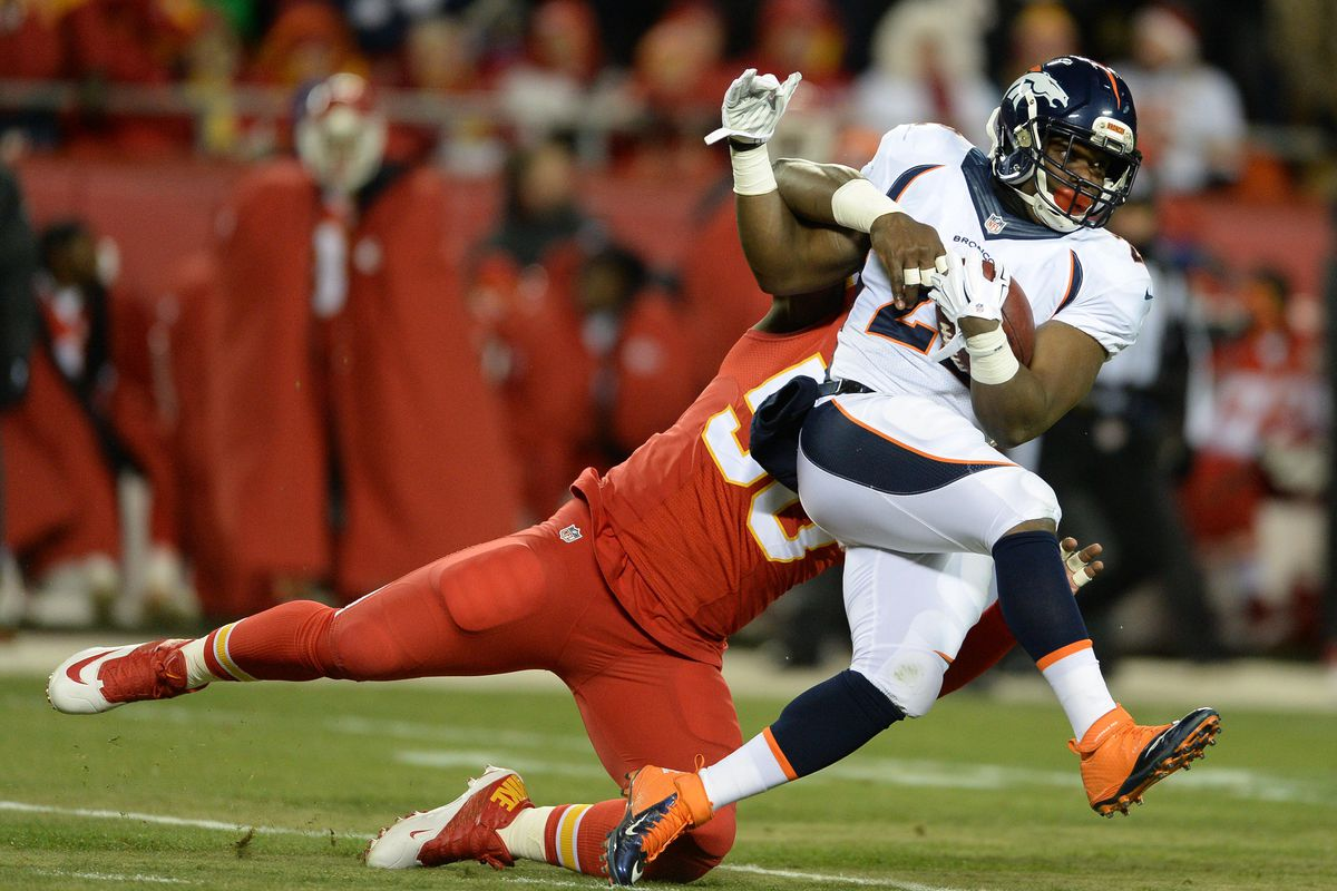 CJ Anderson is our 2014 offensive player of the year, and was second in the running for MVP.