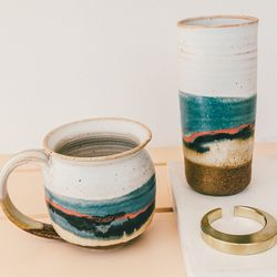 Robert Blue ceramics, IFJ Crescent bottle opener