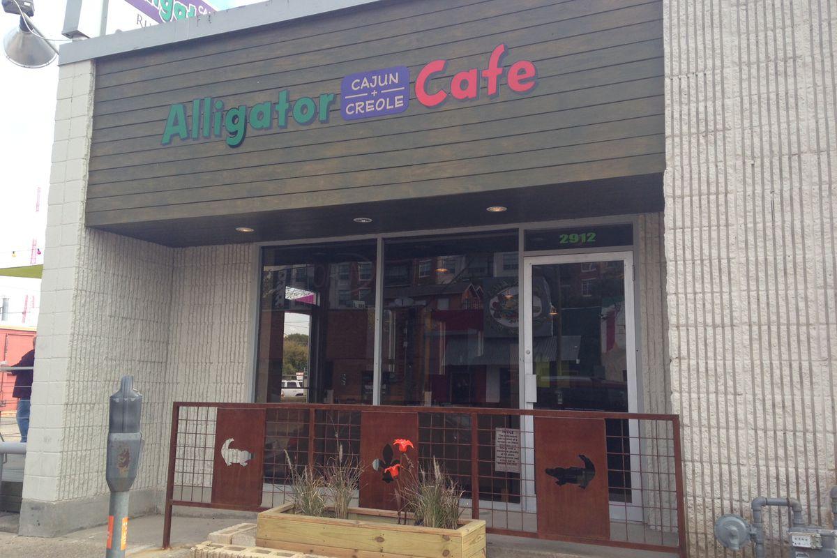Alligator Cafe in Deep Ellum.