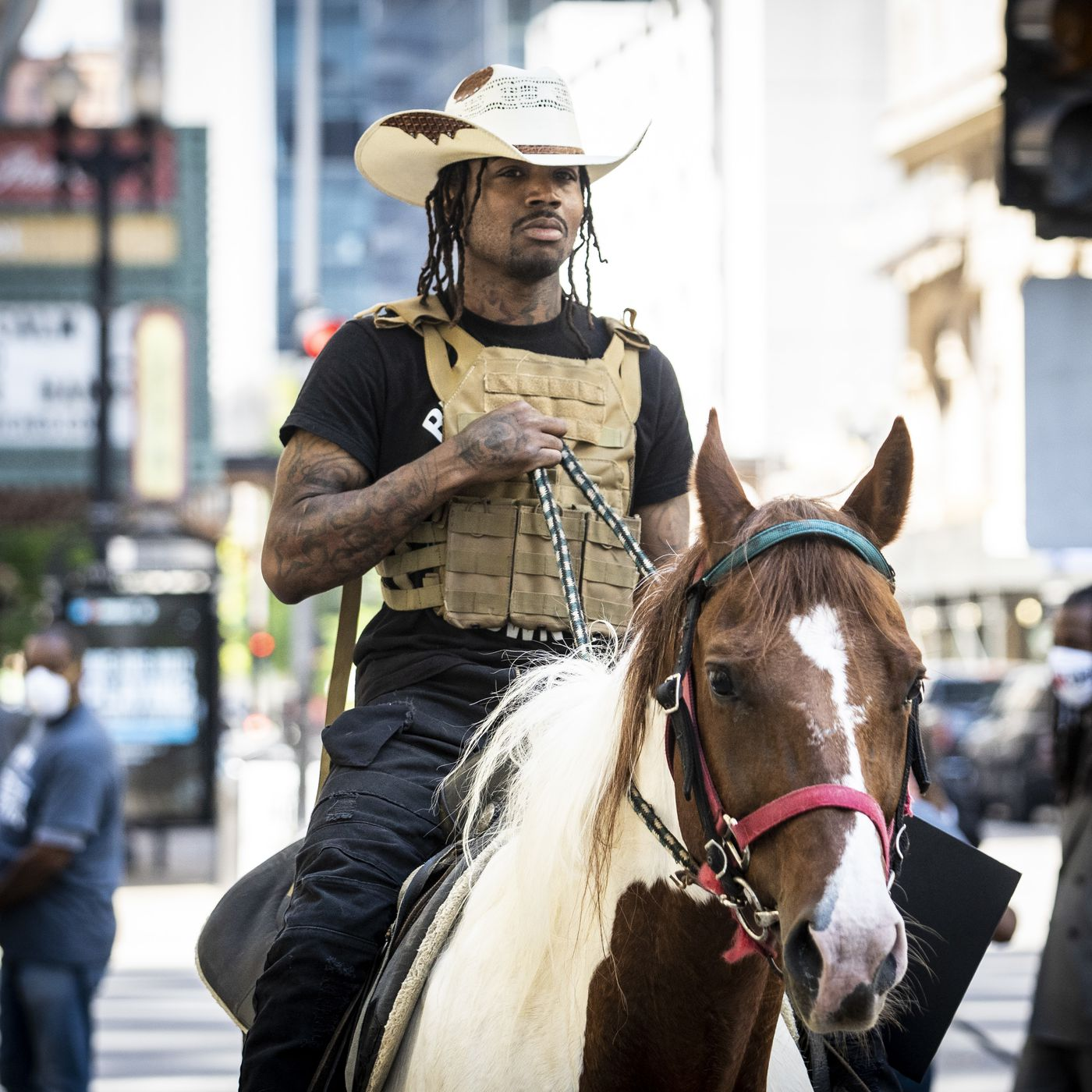 Dread Head Cowboy Rides To Rescue To Boost Chicago S Dismal Census Response Chicago Sun Times