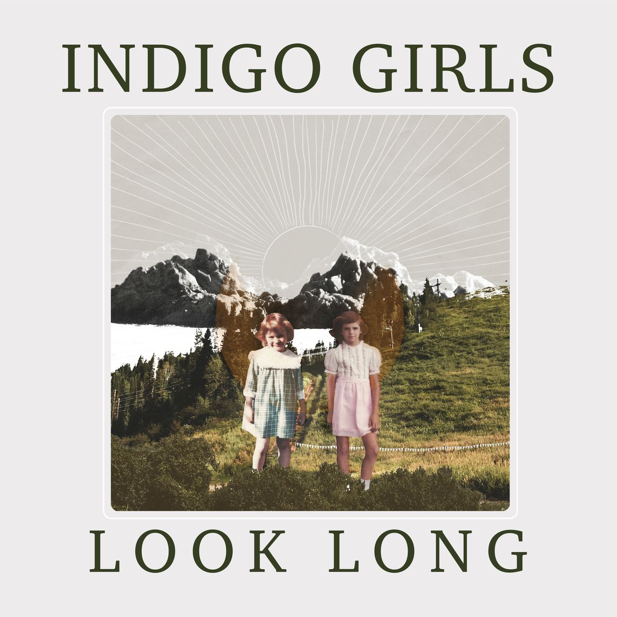 """This cover image released by Rounder Records shows """"Look Long"""" by """"Indigo Girls"""
