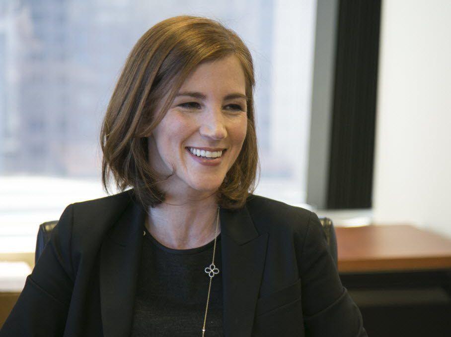 Dina Rollman, co-founder of Illinois Women in Cannabis. | Ashlee Rezin/Sun-Times