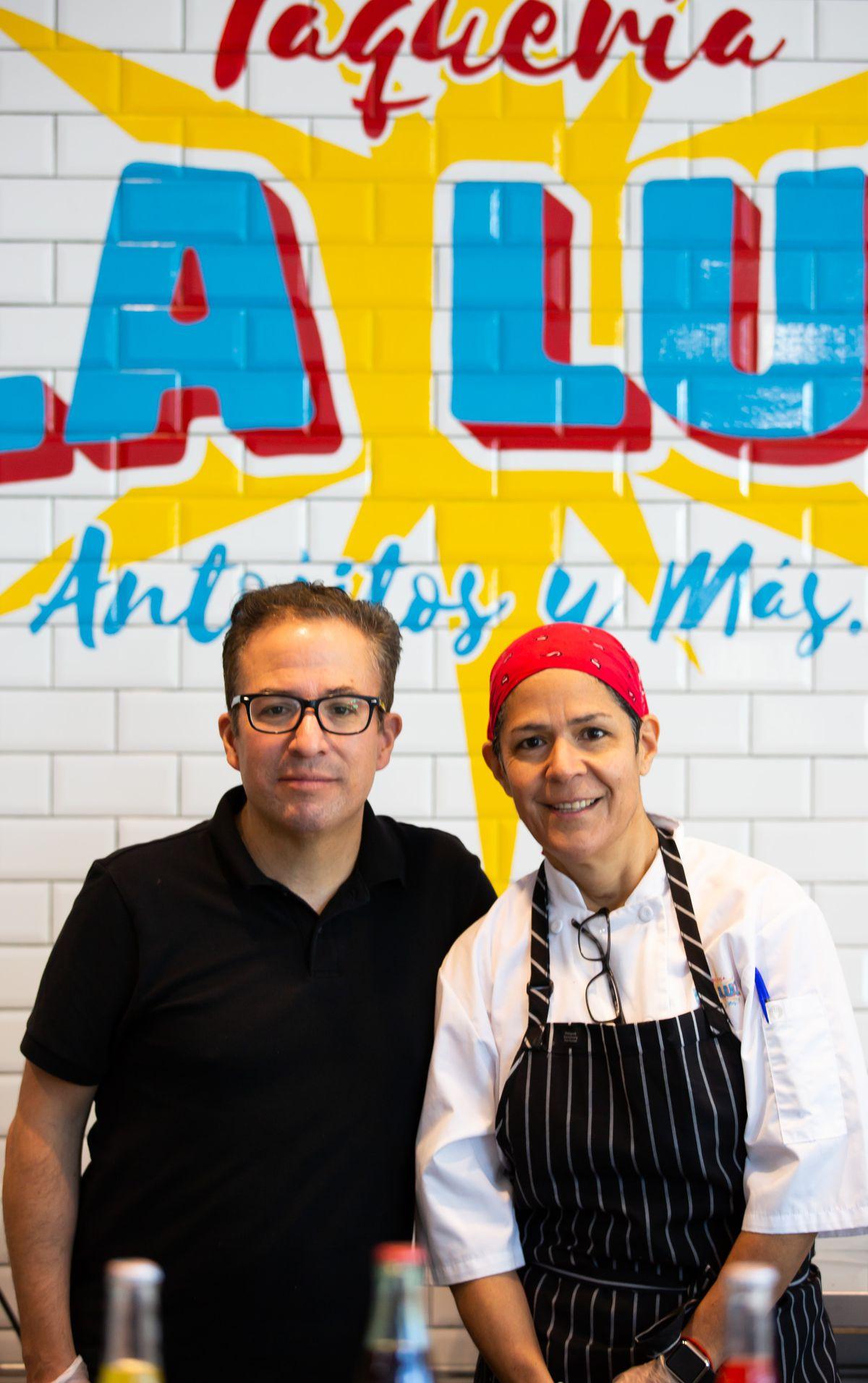 Luis Martinez-Obregon and chef Lucero Martinez, owners of Zocalo and La Luz Mexican in Atlanta