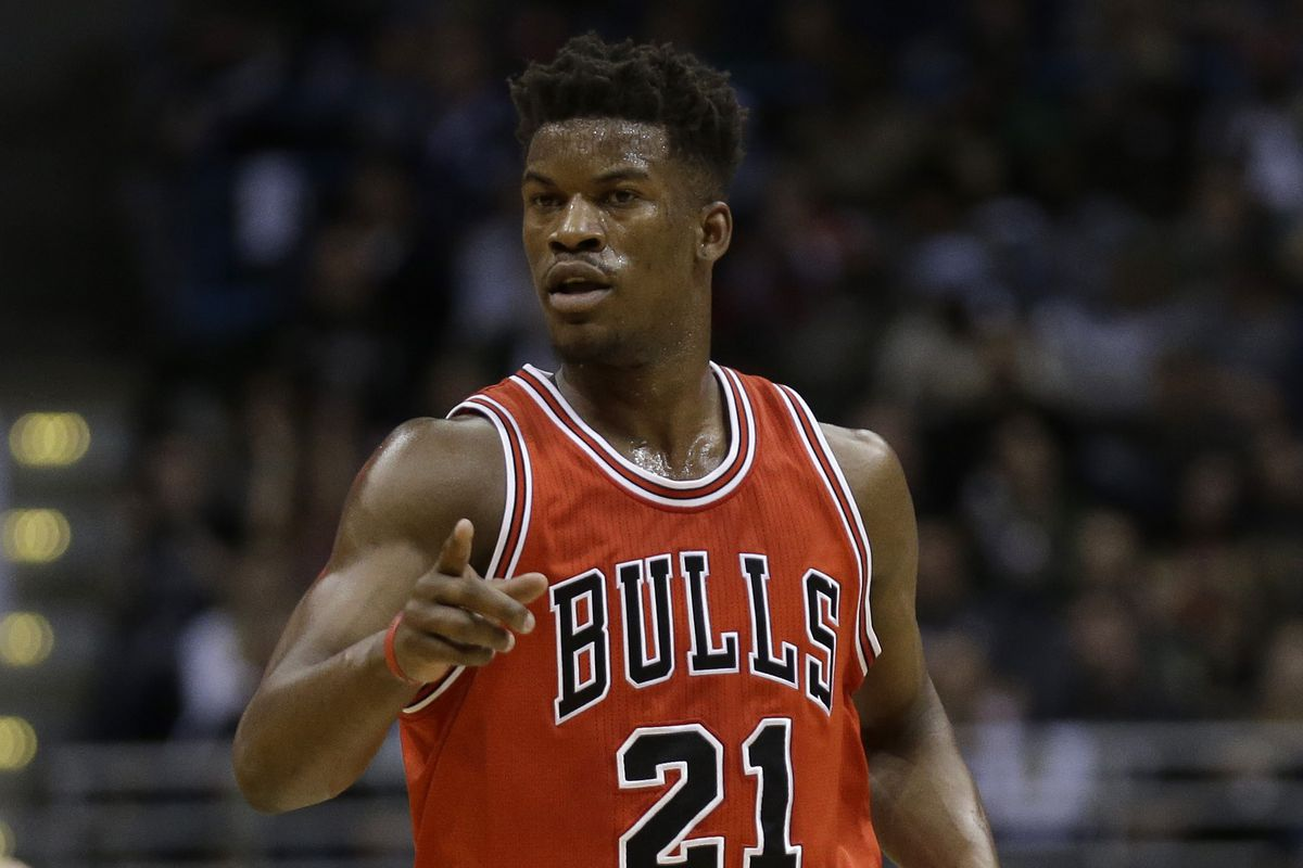 Bulls guard Jimmy Butler went back to his old stomping grounds in Milwaukee where he scored 16 points in Chicago's big win. Butler played his college ball at Marquette.
