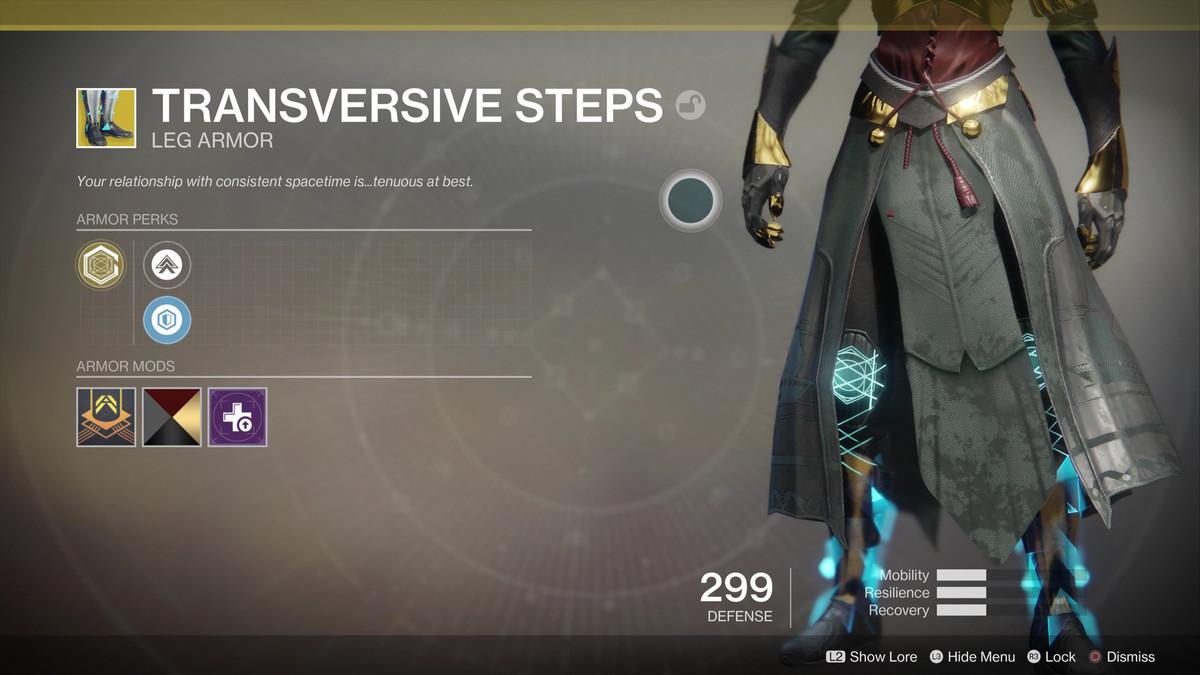 Destiny 2 Guide Best Warlock Exotic Armor