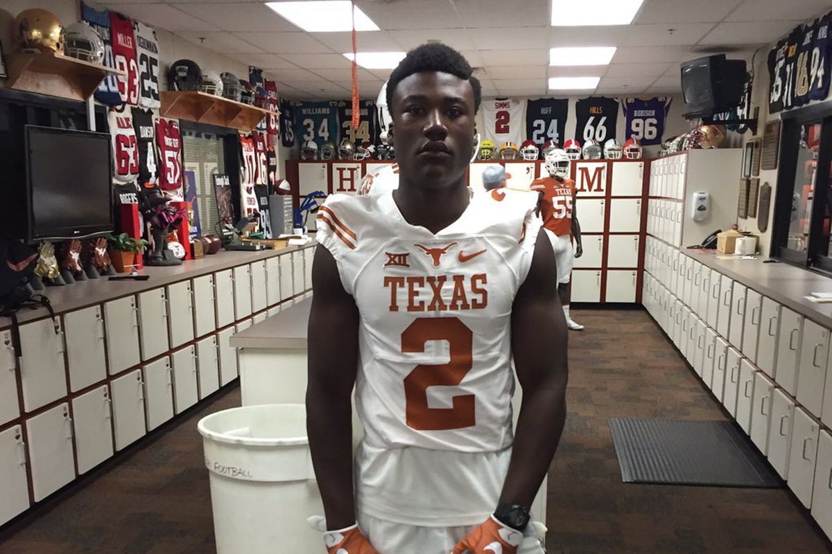 3-star Texas OLB target Kenneth Murray to announce college ...