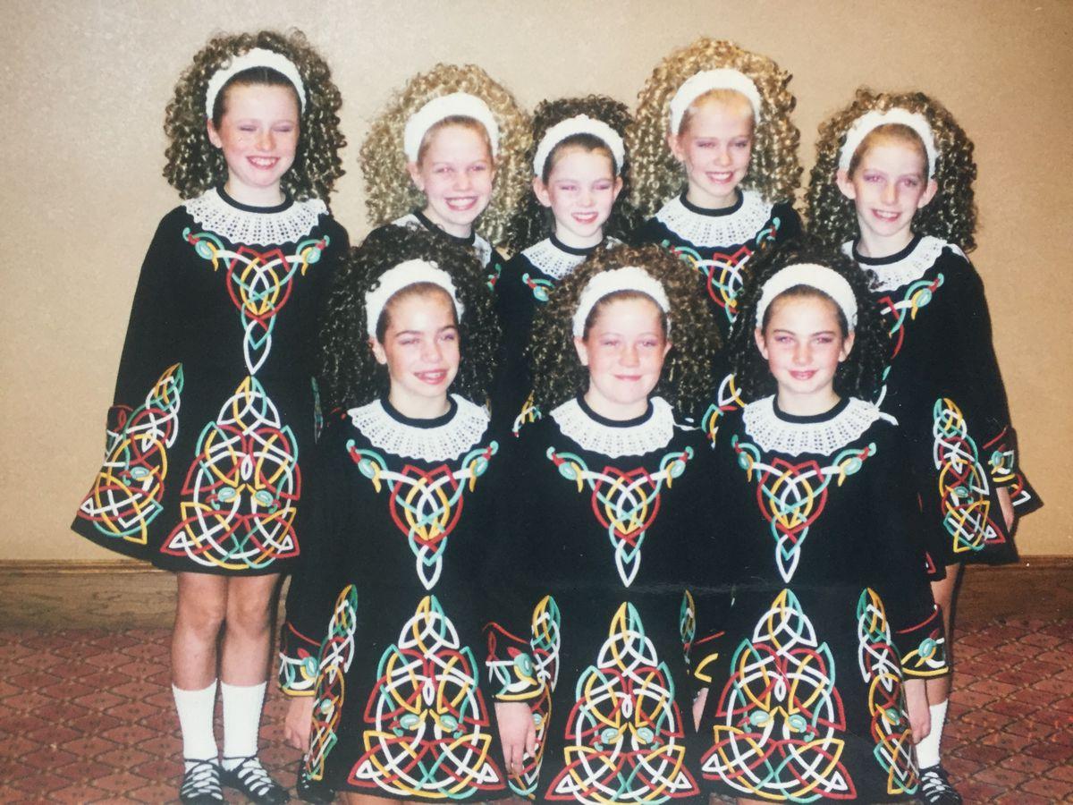 5fb46d371b37c The Glitzy Evolution of the Age-Old Irish Dance Dress - Racked