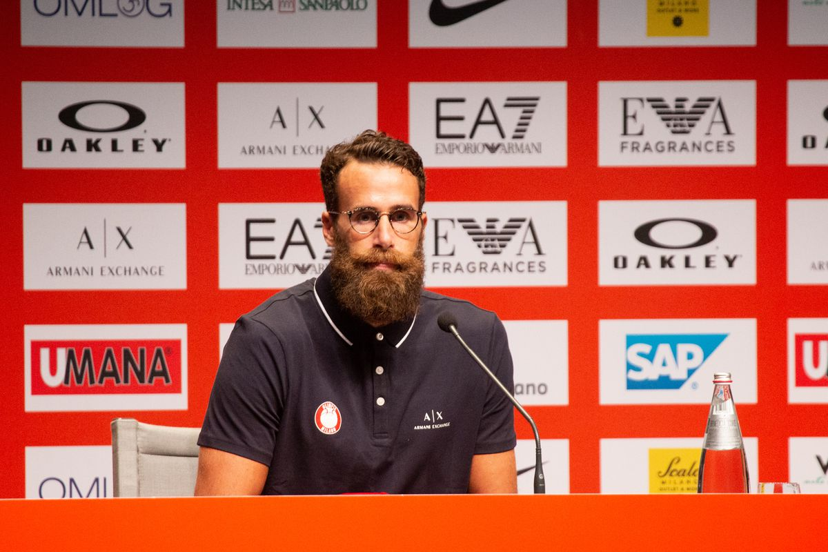 AX Armani Exchange Milano Introduce New player Luigi Datome