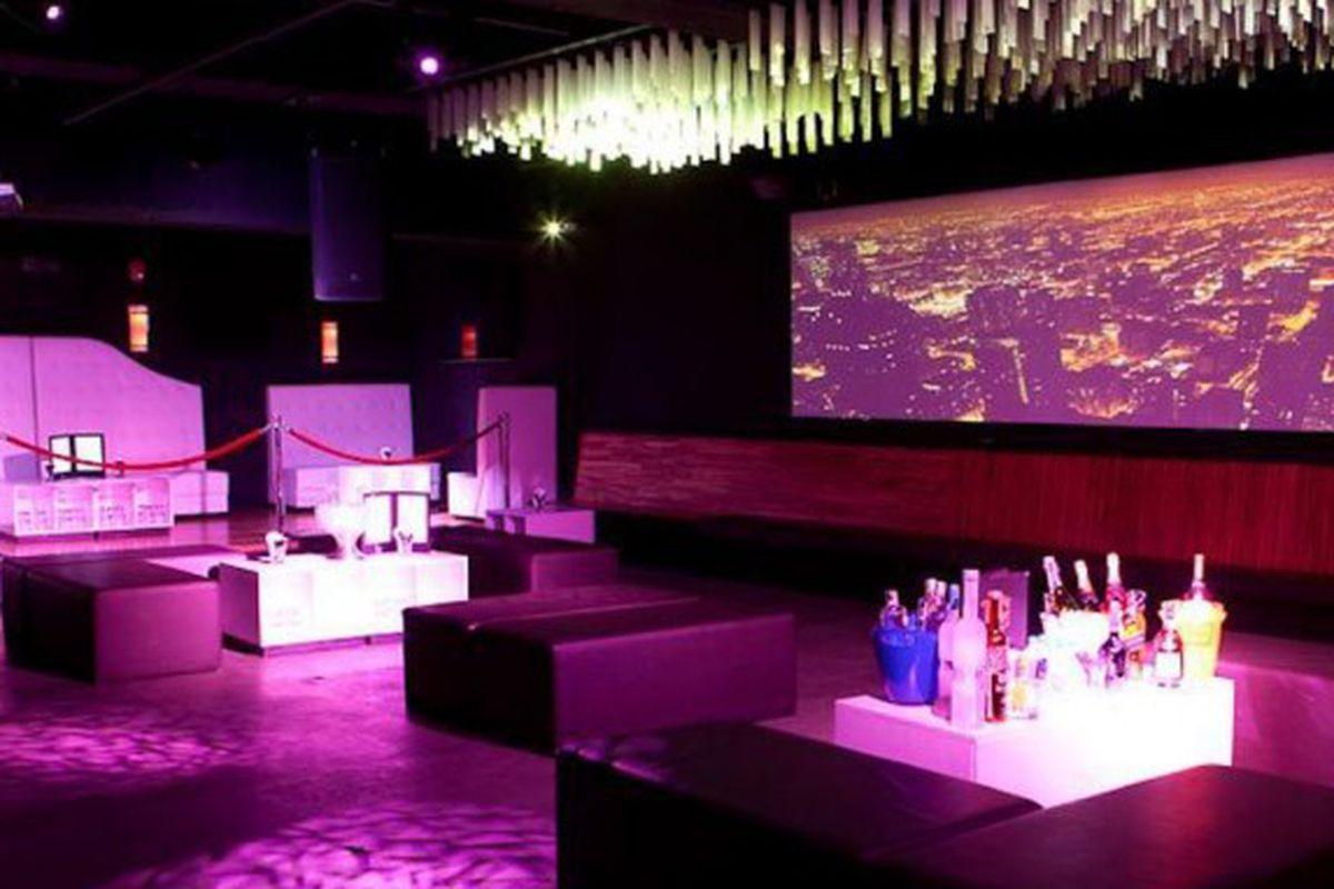 Nightclub space at Monroe