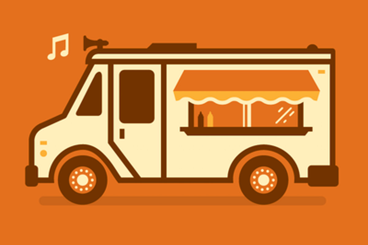 The Helping Hand Food Truck logo