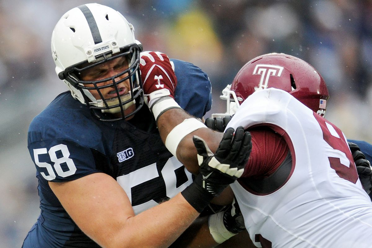 Temple at Penn State football