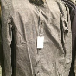 Button-down shirt, size S, $59 (was $195)