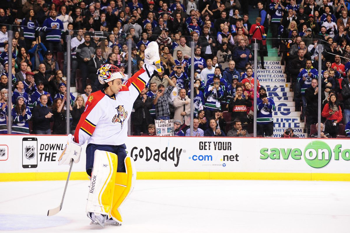 Roberto Luongo Comes Out On Top In Return To Vancouver Nucks