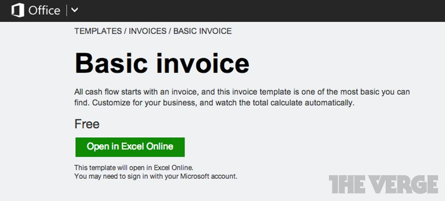 Microsoft Office Online Set To Replace Existing Word And Excel Web - How to do an invoice on word online sports store