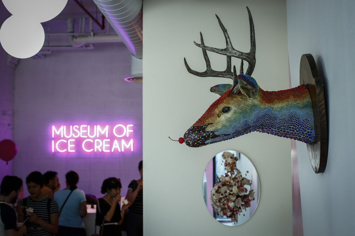 Pop-Up Museum Of Ice Cream Appears In New York City