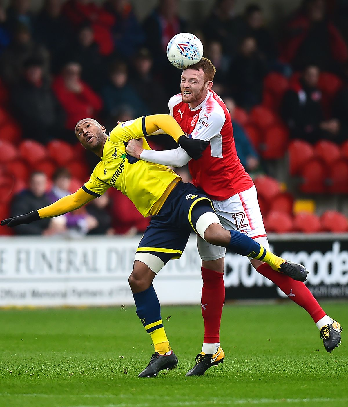 Fleetwood Town v Oxford United - Sky Bet League One