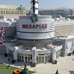 The Megaplex Theatre at The Gateway in Salt Lake City is pictured on Friday, Aug. 28, 2020.