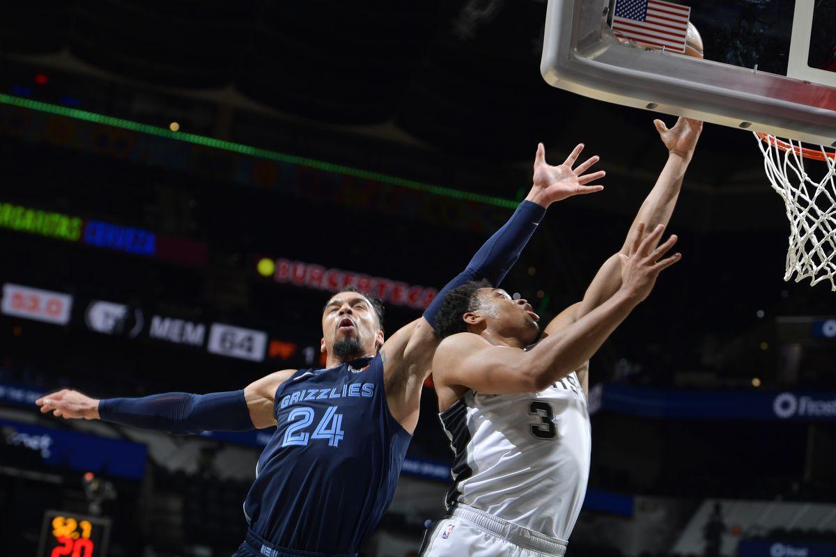 Memphis Grizzlies v San Antonio Spurs