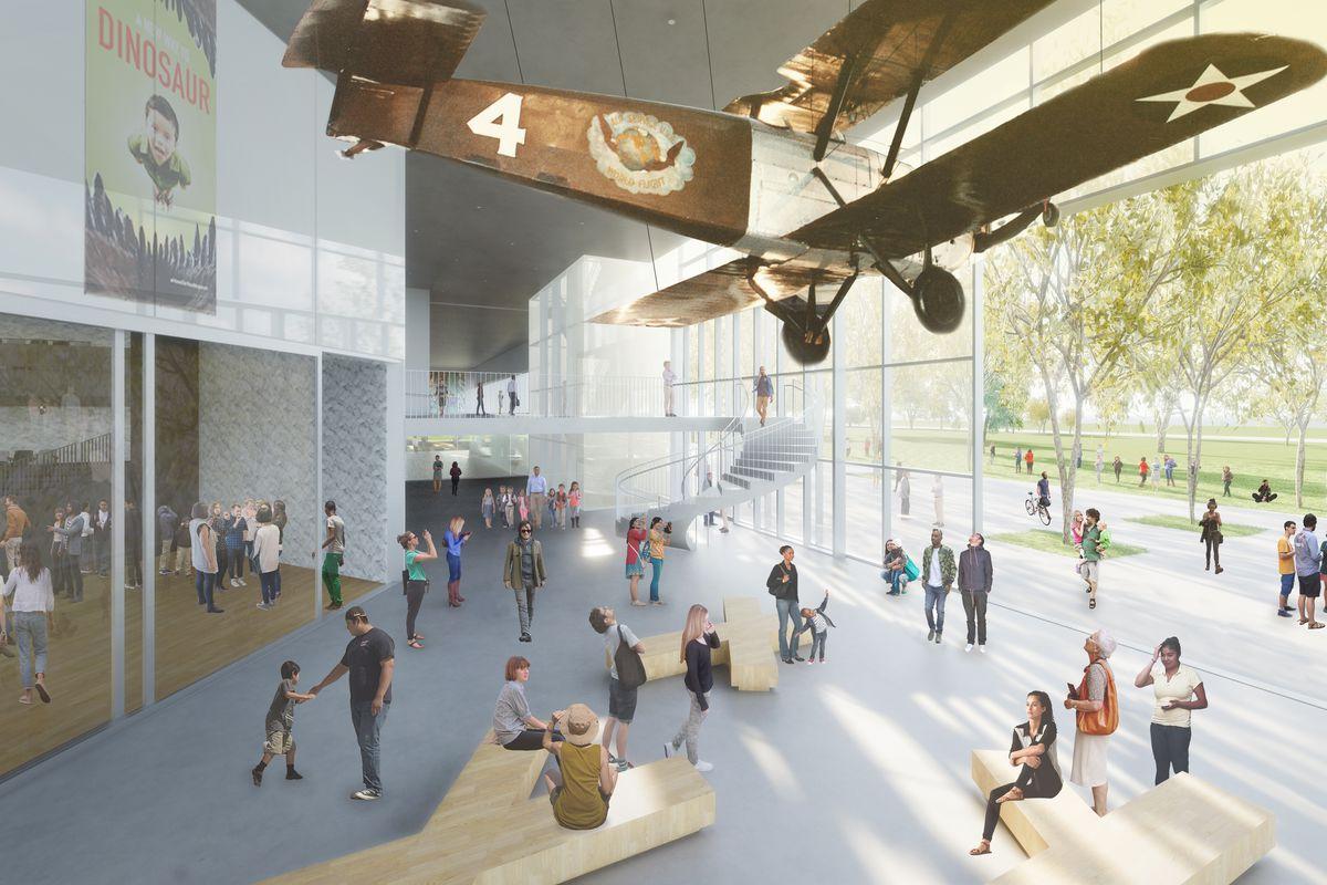 Foyer Museum Utah : La s natural history museum could get a major overhaul