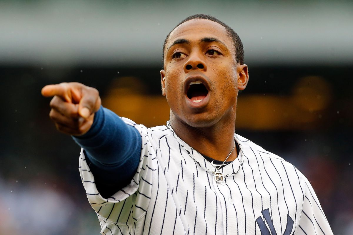Curtis Granderson of the New York Yankees