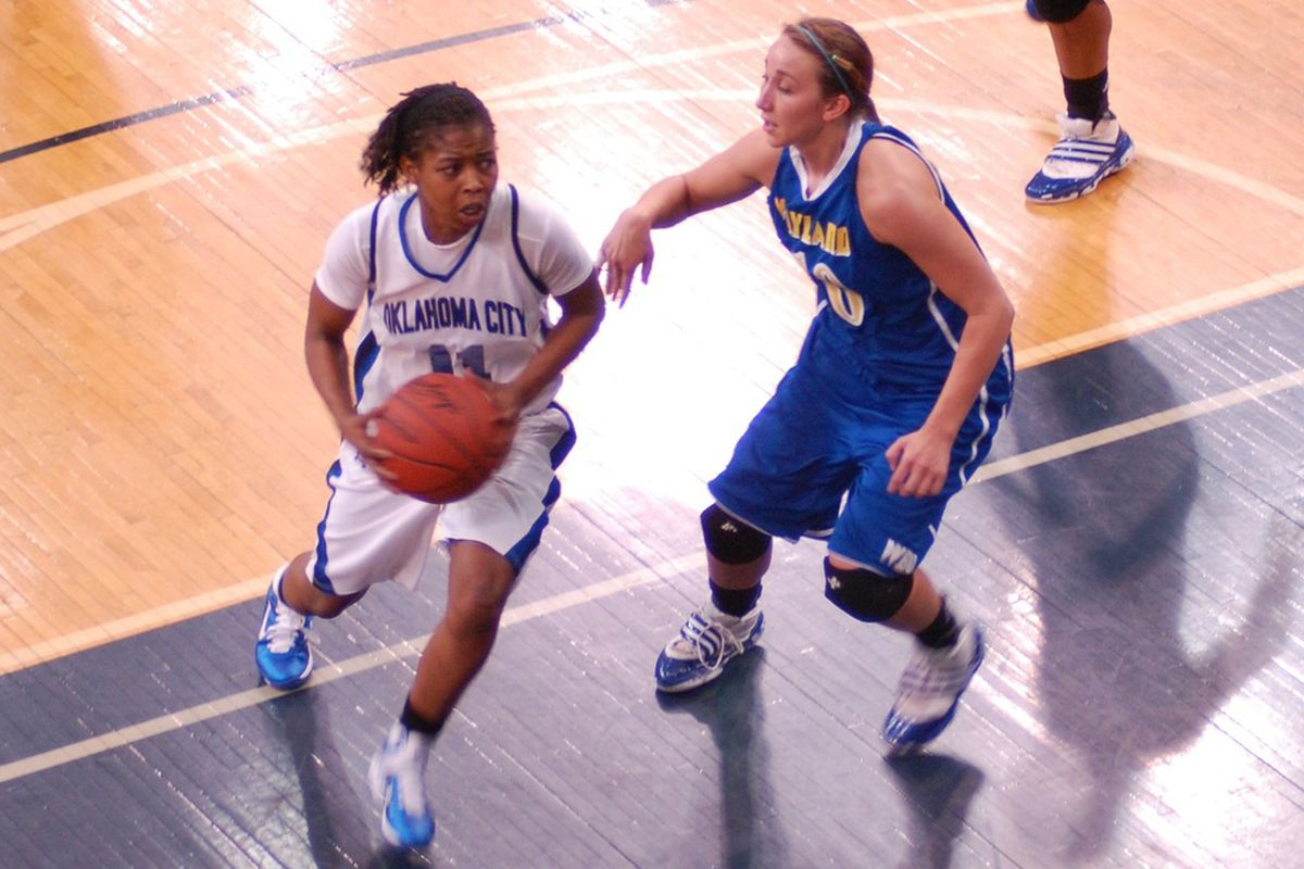2007 SEC All-Freshman team selection Donica Cosby now plays for Oklahoma City University in the NAIA, but she still has a shot at the WNBA.<em> (Photo courtesy of OCU Athletics)</em>
