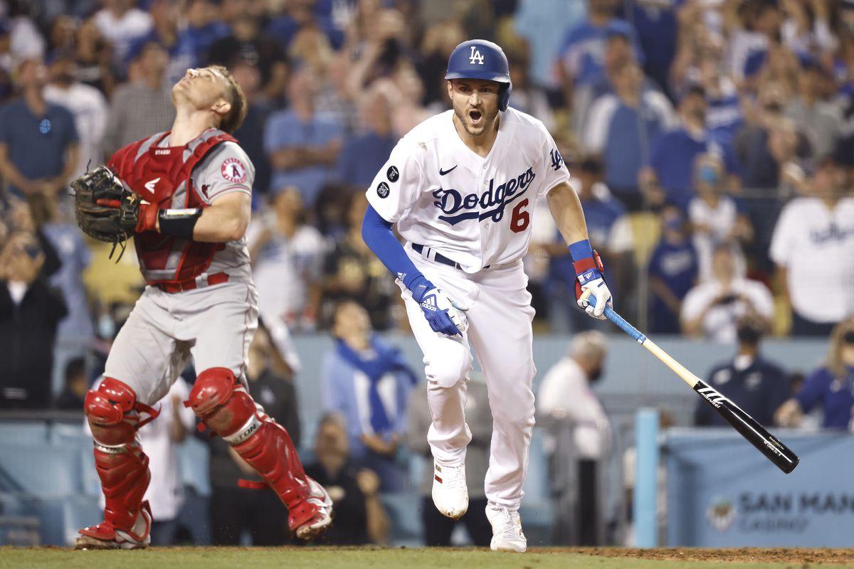 Los Angeles Angels v Los Angeles Dodgers