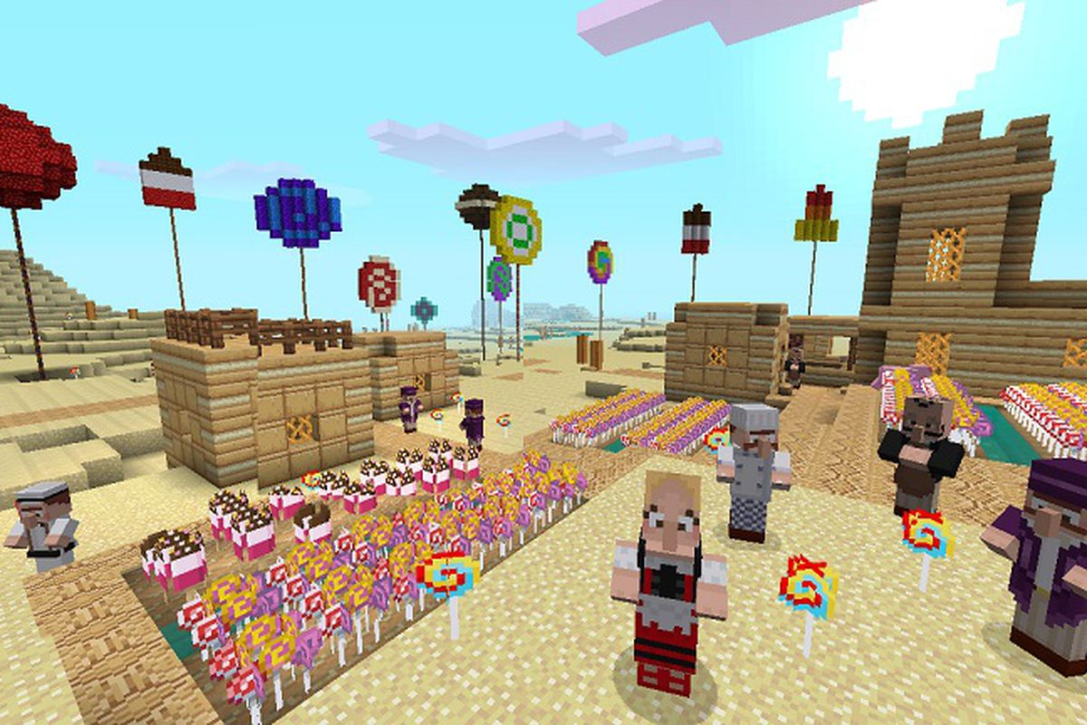 Make Everything Look Like Candy With Minecraft Xbox 360 S
