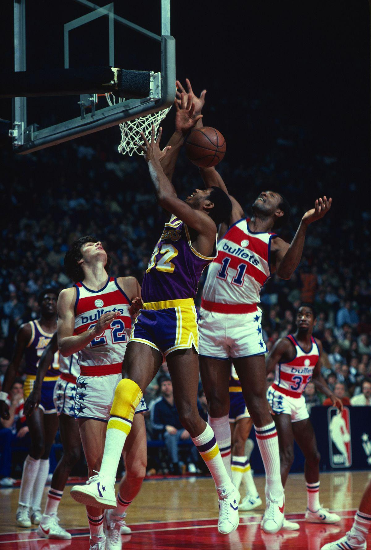 Los Angeles Lakers v Washington Bullets